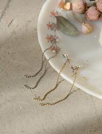 chain drop earring