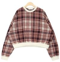 stay with check knit