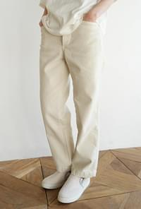 Non-stretch strong pants