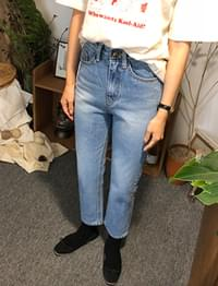 Vintage washing medium jean_B (size : S,M)