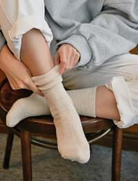 Heater wool basic socks_H (size : one)
