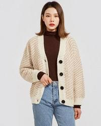 maybe wool cardigan