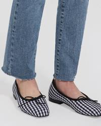 ribbon point flat shoes (225-250)