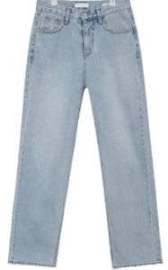 bright straight denim pants (s, m, l)