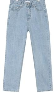 light mood denim pants (s, m)