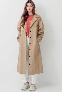 mood cotton trench CT