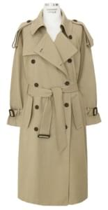LOOSE FIT DAILY BELT TRENCH COAT