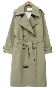 OVER LONG CAPE TRENCH COAT