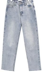 Washed Crop Jeans