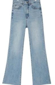 kaiser wide boots denim pants (s, m, l)