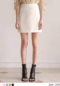 [SKIRT] LIGHT A LINE MINI SKIRT