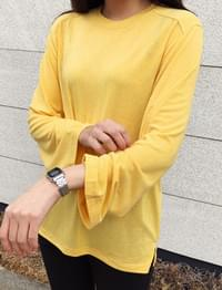 Wide stretch loose T_M (size : free)