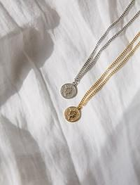 coin pendant nacklace