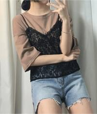 Loose Half sleeves Top