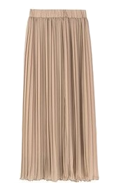 Lani Long Pleated Skirt