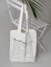 cloth eco bag