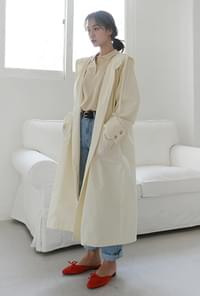 Hoody smart trench coat