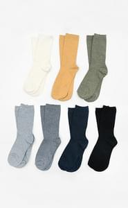 Choice color ribbed socks
