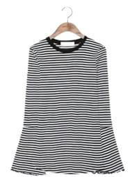 WIDE RETAIL STRIPE T