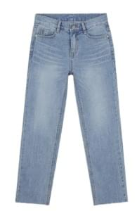 front slim washing denim pants (s, m, l)