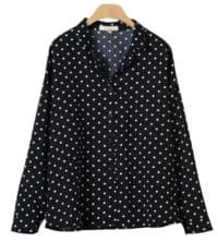 Mace dot blouse