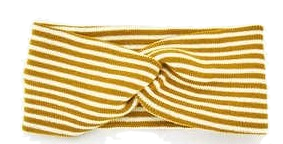 stripe twist hair band
