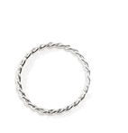 Nut silver ring