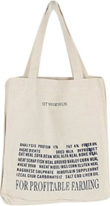 fiction eco bag (2colors)