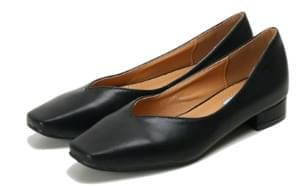 Square simple flat shoes 平底鞋