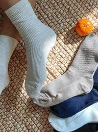Mentor's plain socks