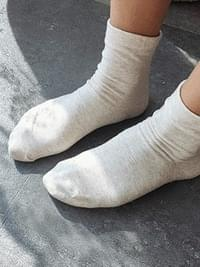 Unpressed soft socks
