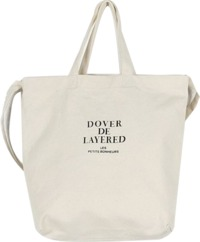 Solid two way canvas bag