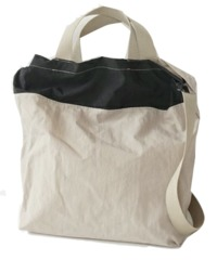 two tone handy bag (3colors)