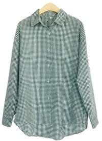 With pastel check shirt - 2color