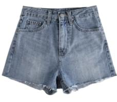 Dili Denim Hot Pants