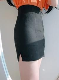 10% off the name ♥ Pocket mini skirt sk (pink, black)