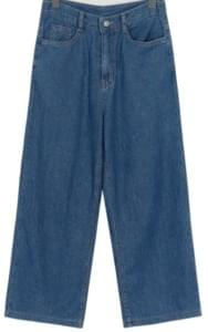 Summer blue wide denim pants_B (size : S,M,L)[15일 입고 후 순차적배송]