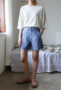 Wearable cotton half pants