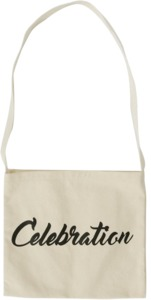 Greenery lettering eco bag_S
