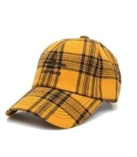 colorful lettering check cap