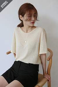 Daily wearable linen tee