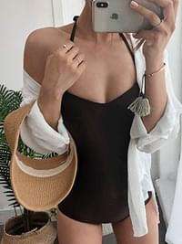 Monokini Finger One Piece Swimwear