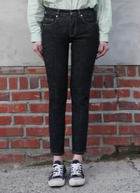 Slim Straight Top Denim Pants