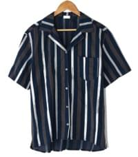 stripe half sleeve shirts