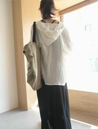 natural mood hoodie blouse (2colors)