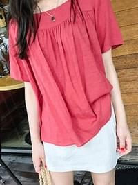 Loose Square Blouse