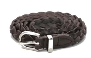 Simple twist slim belt