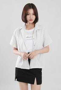 Marstripe short-sleeved shirt