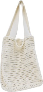 Open knit big bag