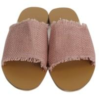 Natural color straw slipper_S (size : 230,235,240,245,250)